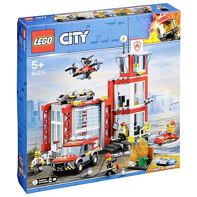 City 60215 Fire Station Heroes of everyday life!