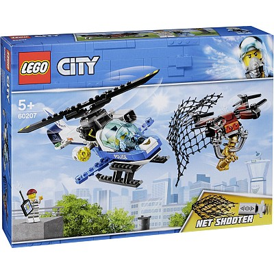 City Lego 60207 Sky Police Drone Chase