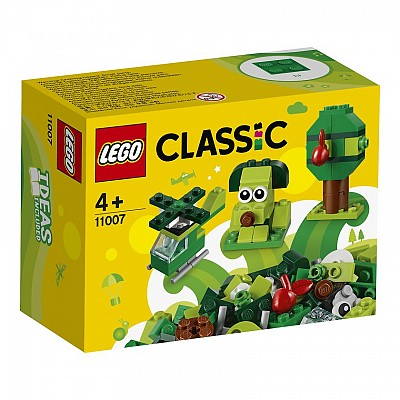 Classic Creative Green Bricks (11007)