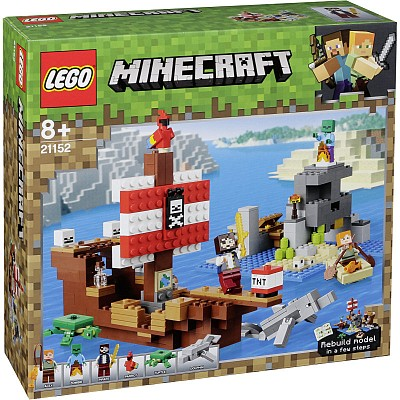 Minecraft Lego 21152 The Pirate Ship