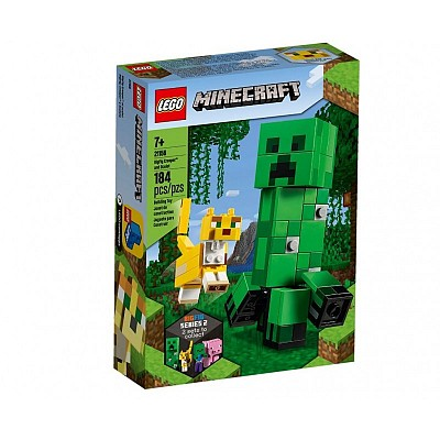 Minecraft 21156 BigFig Creeper & Ocelot