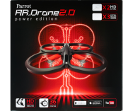 AR.Drone 2.0 Power Edition red