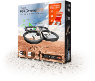 AR.Drone 2.0 GPS Edition sand incl. Flight Recorder