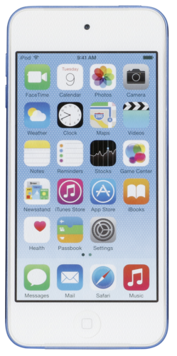 iPod touch blue 32GB 6. Generation