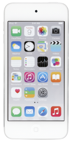iPod touch silver 16GB 6. Generation