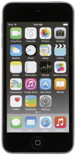iPod touch space gray 32GB 6. Generation