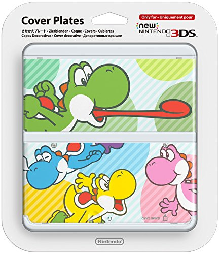 New 3DS Cover 028 Bunte Yoshis