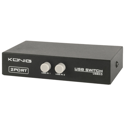 USB switch 2 σε 1