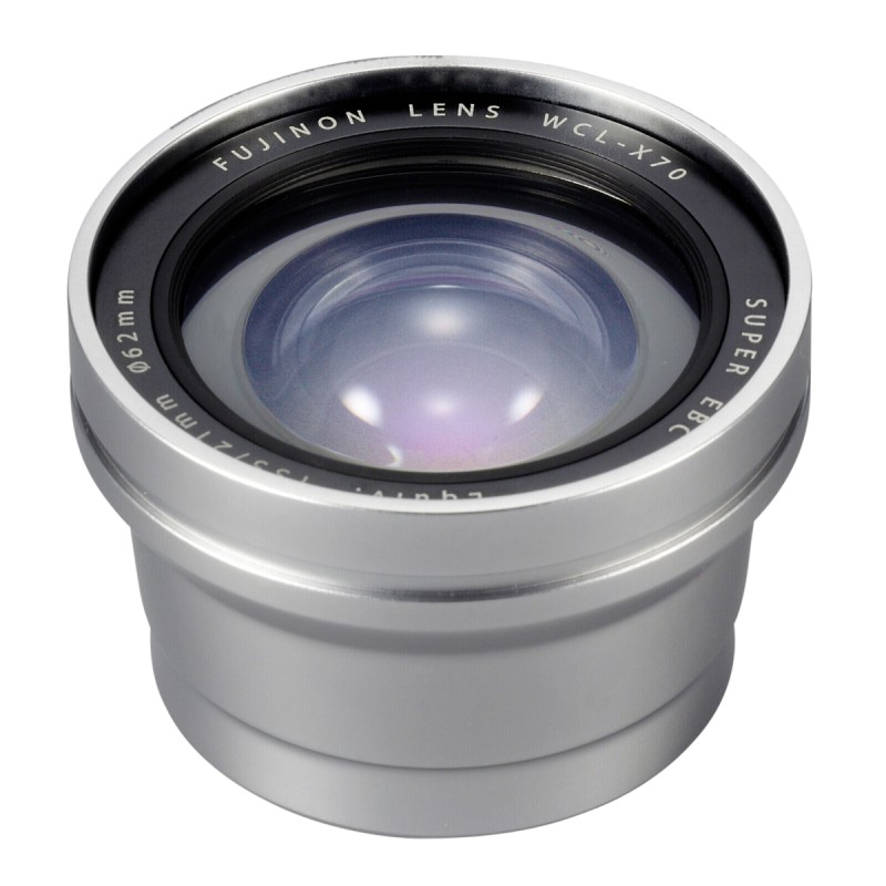 WCL-X70 silver Wide Angle Converter