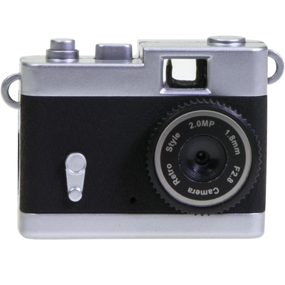 Mini Retro Digital Camera Black