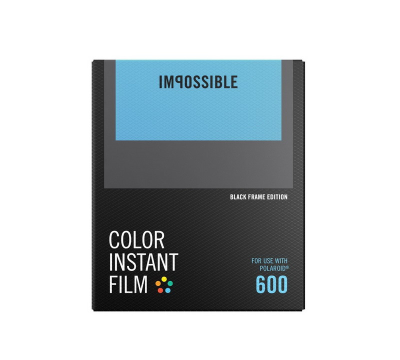 Impossible Color Film for 600 Black Frame NEW