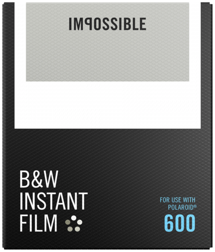 Impossible B&W Film for 600 NEW