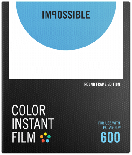 Impossible Color Film for 600 Round Frame NEW