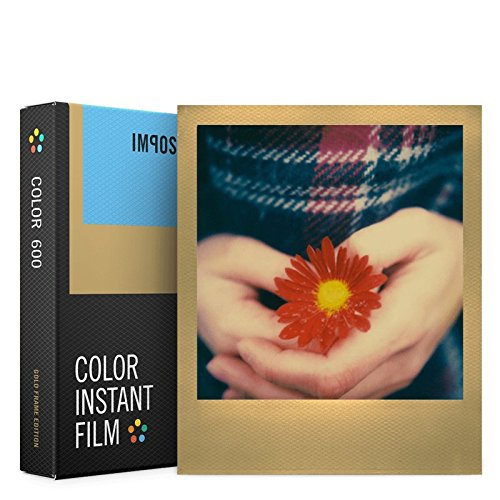 Impossible Color Film for 600 Gold Frame NEW