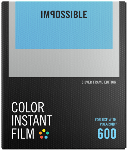 Impossible Color Film for 600 silver Frame NEW