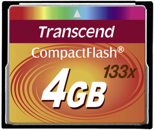 Compact Flash 4GB 133x