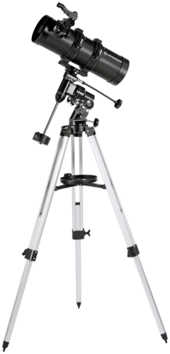 Pluto 114/500 EQ Telescope with Smartphone Holder