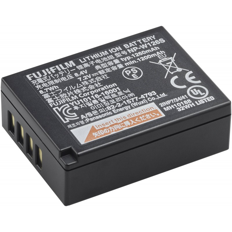 NP-W126S Li-Ion Rechargeable Battery