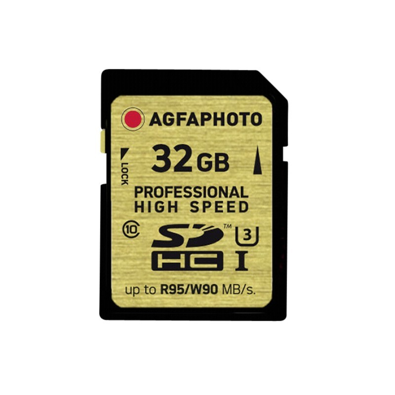 SDHC Card UHS I 32GB Professional High Speed U3 95/90