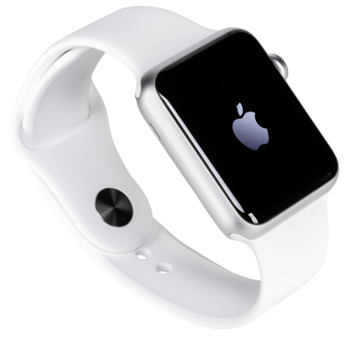Watch 1 42mm Silver Alu Case with White Sport Band