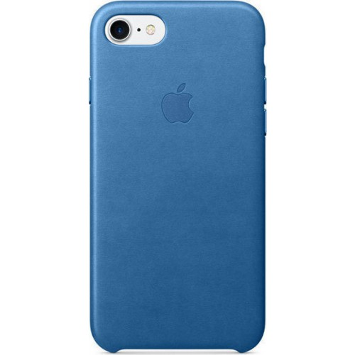 iPhone 7 Leather Case Sea Blue