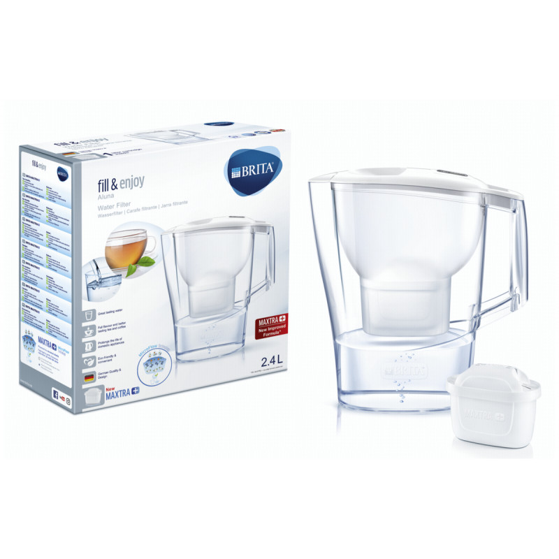 Aluna white Cool Memo Water Filter