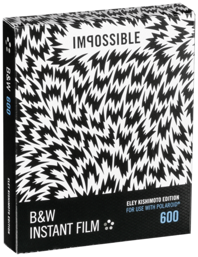 Impossible B&W Film for 600 Eley Kishimoto Edition
