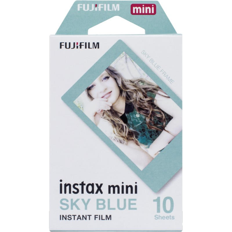 Instax Film Mini blue frame