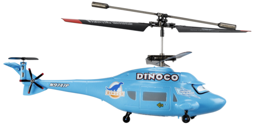 Dickie IRC Dinoco Helicopter Cars 2