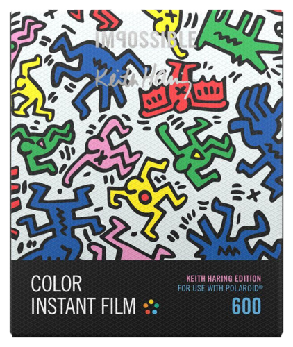 Impossible Color Film for 600 Keith Haring Frame
