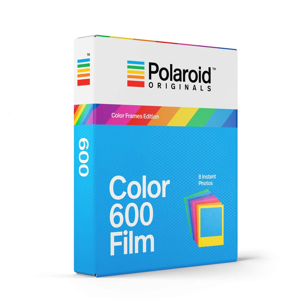 Color Film Color Frames for 600