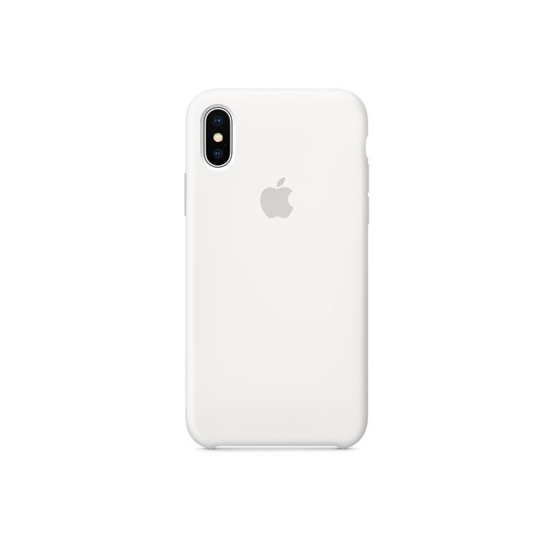 Apple iPhone X Silicone Case White