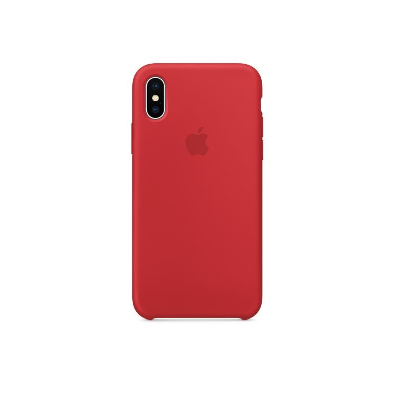 iPhone X Silicone Case (PRODUCT) RED