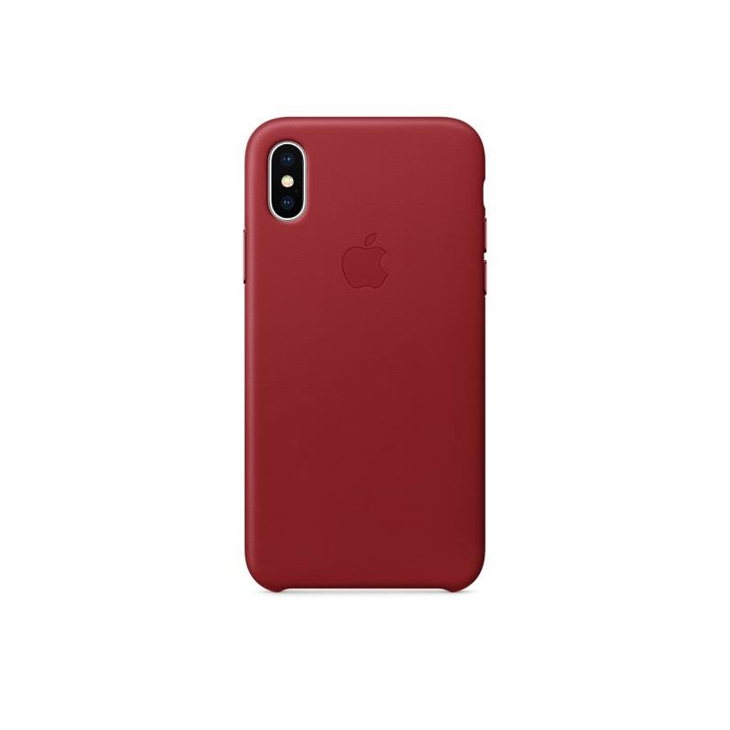 iPhone X Leather Case (PRODUCT) RED