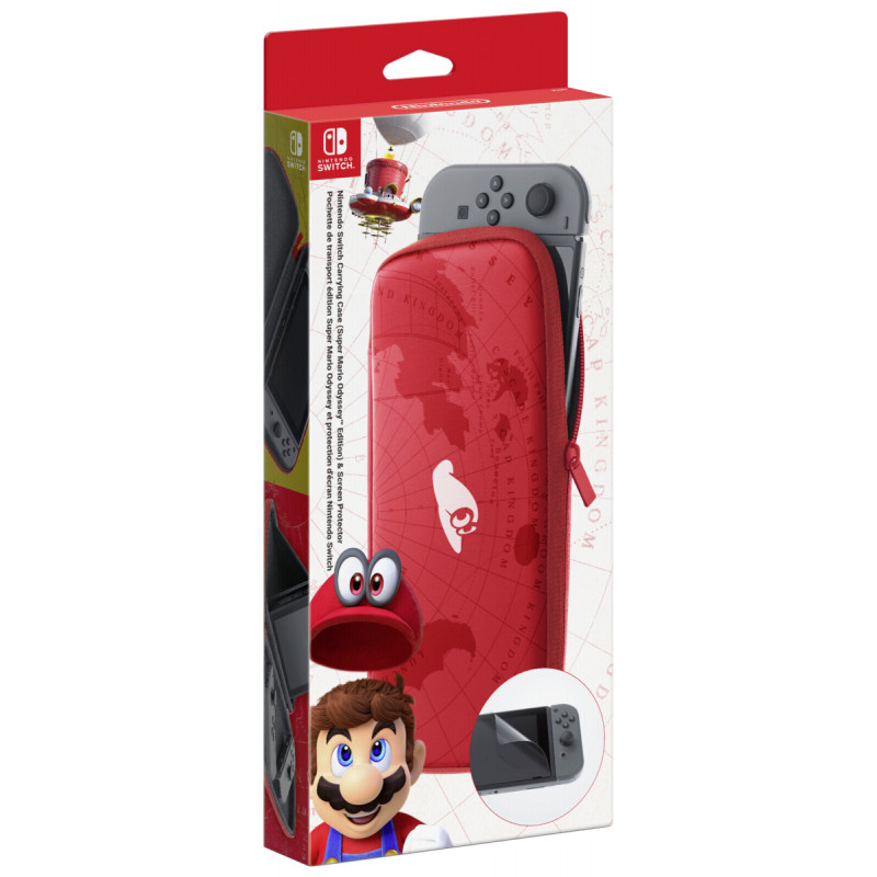 Switch Bag incl. Screen Protector (Mario Odyssey)
