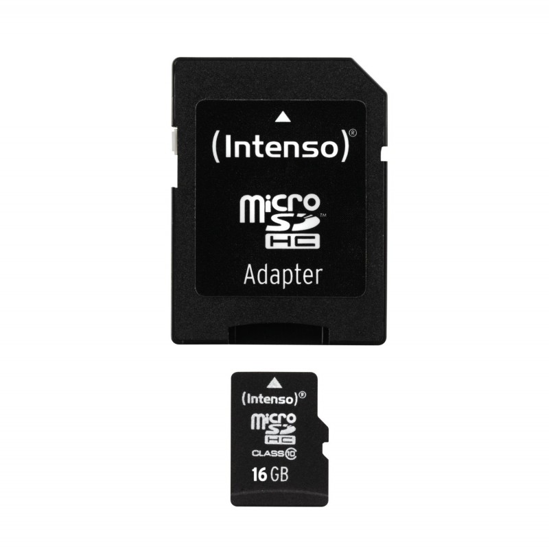 microSDHC 16GB Class 10 with Adapt. COPY