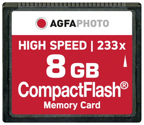 Compact Flash 8GB High Speed 233x MLC