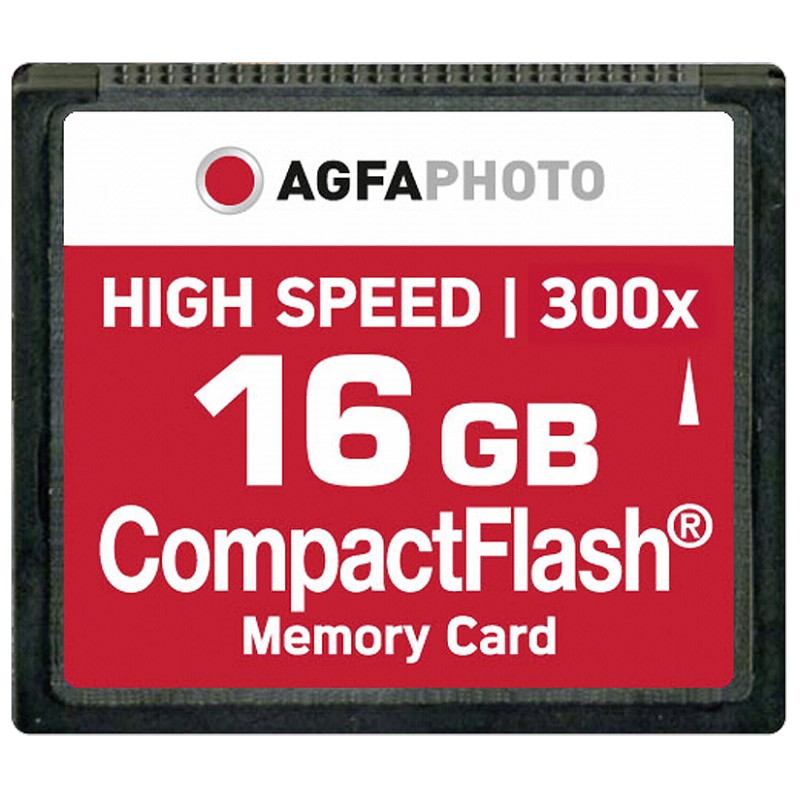 Compact Flash 16GB High Speed 300x MLC
