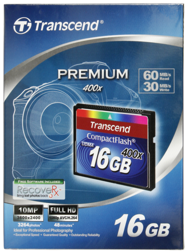 Compact Flash 16GB 400x