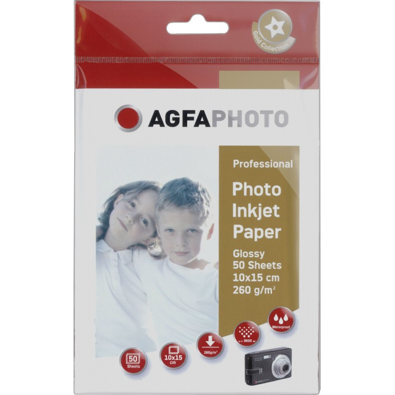 Professional Photo Paper 260 g 10x15 cm 50 Sheets