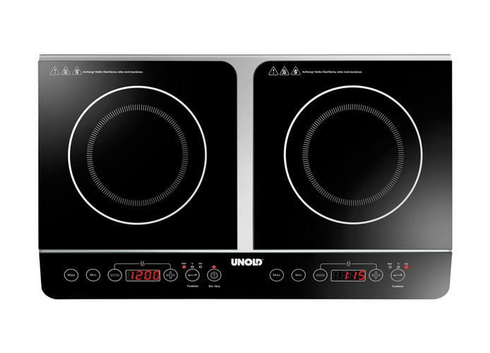 Double induction cooker 58175