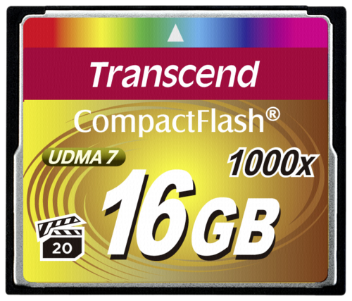 Compact Flash 16GB 1000x