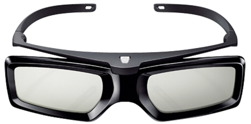 Active 3D glasses with RF connectivity and SimulView