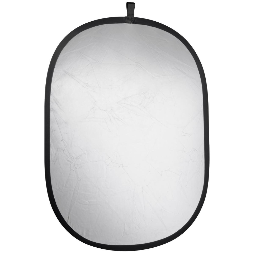 Foldable Reflector silver/white, 150x200cm