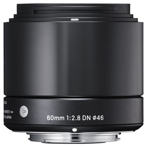 60mm f/2.8 DN Black MFT
