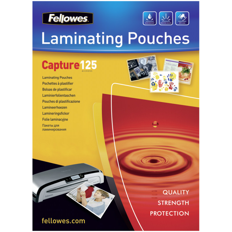 A2 125 Micron Laminating Pouch 50-pack
