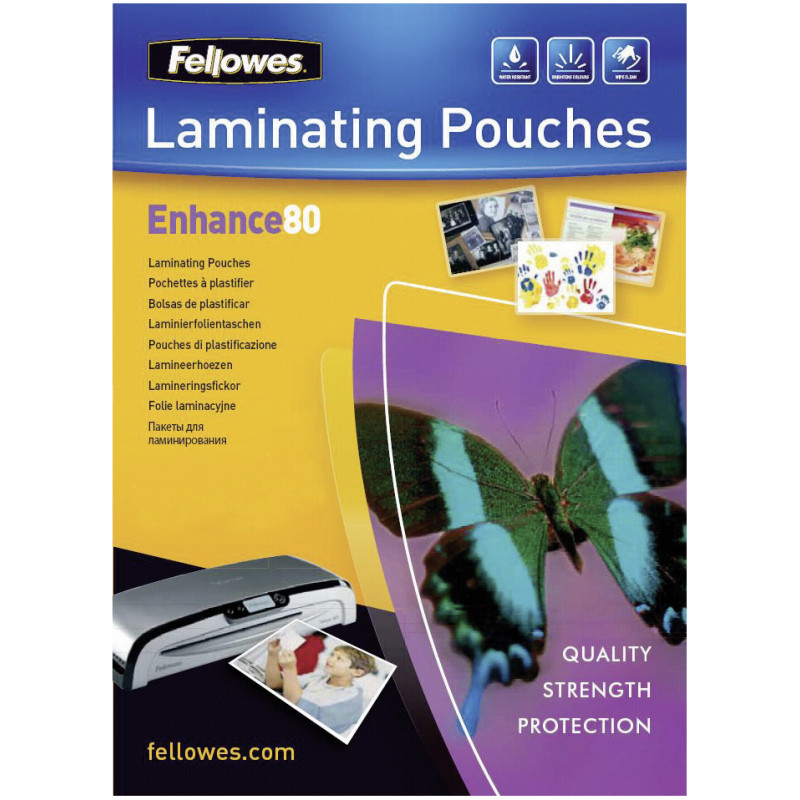 Glossy 80 Micron Photo Laminating Pouch - 10x15cm
