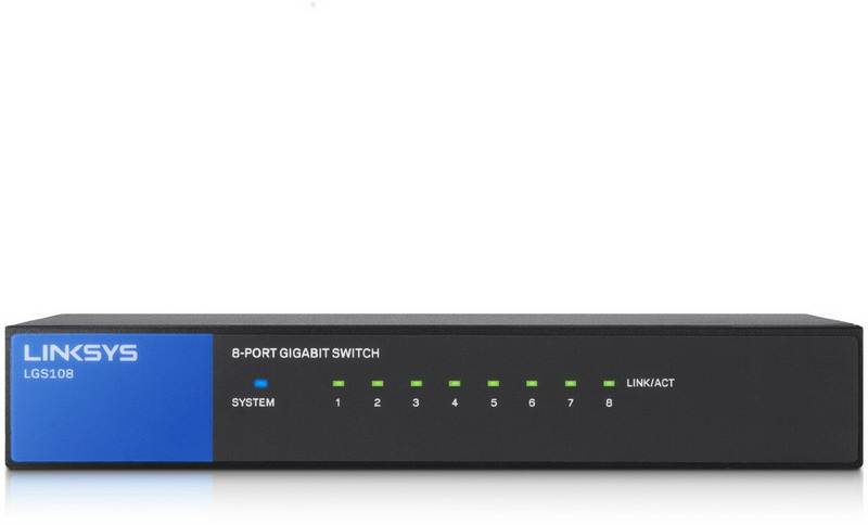 Unmanaged Switches 8-port EU