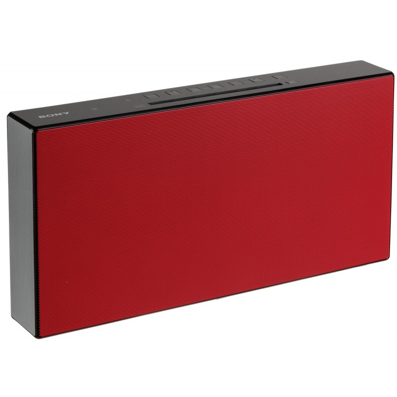 Hi-Fi System with Bluetooth red 20W