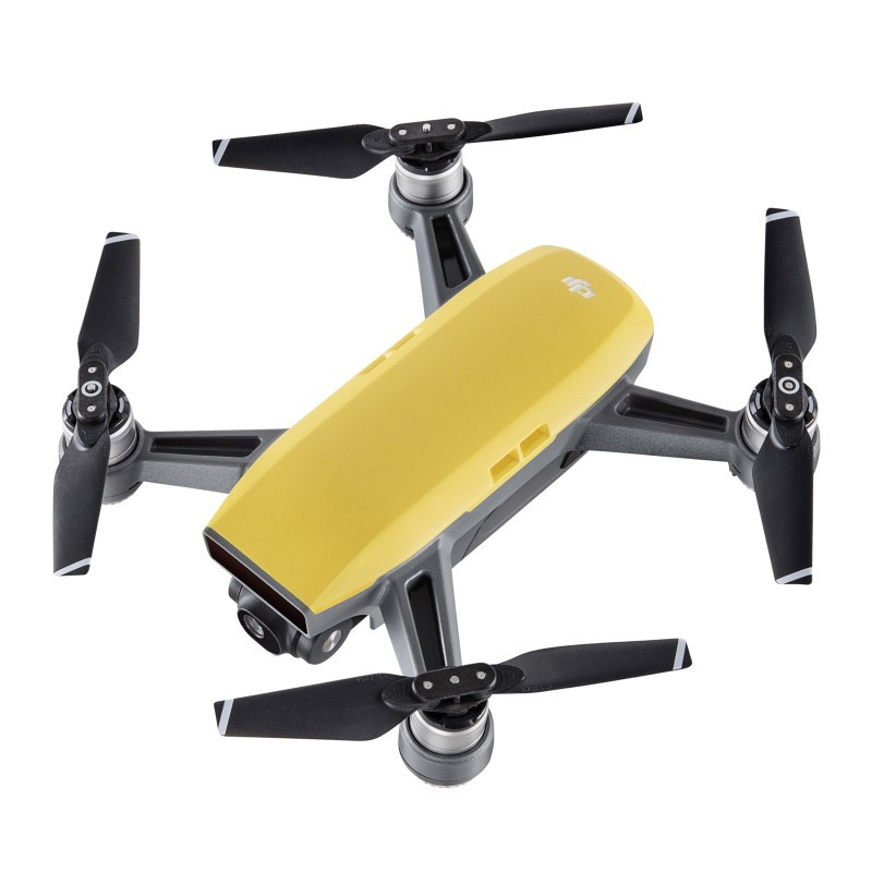 Drone Spark Sunrise Yellow Set + DJI Spark Remote P4